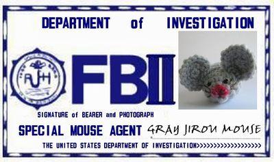 gray JIROU mouse FBⅡ