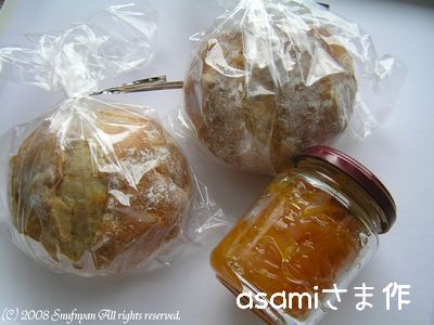 asamiさま作 パン&ジャム