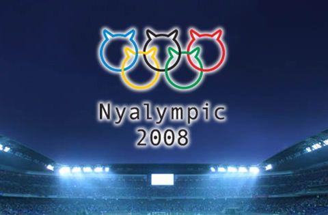 ニャリンピック ロゴ