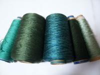グリーン系シルク糸いろいろ