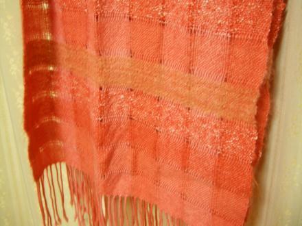 空き羽織りのショール
