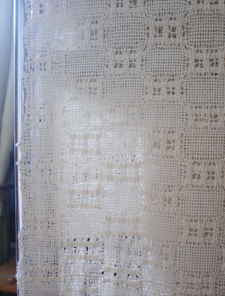 模紗織りの練習作品