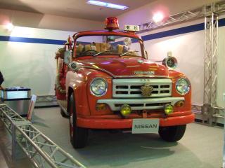 昔の消防車1