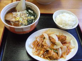 叶飯店 Bセット ¥900