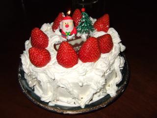クリスマスケーキ完成~っ!!