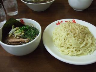 和風とんこつつけ麺 ¥700