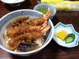 えび天丼 ¥1680