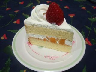 ショートケーキ ¥294