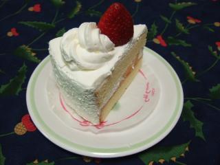 ショートケーキの絶対領域とは・・・