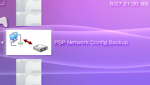 PSP Network Config Backup