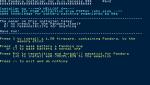 Pandora installer for 3.xx kernels メニュー