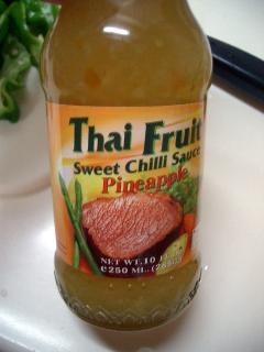 スゥイート・チリ・ソース パイナップル味♪
