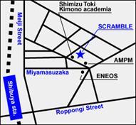 スクランブル渋谷map