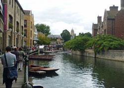 ケンブリッジ 運河