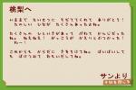 サンからの手紙
