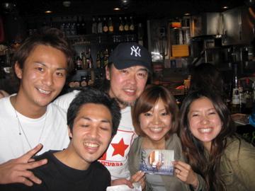 ゲストの須田氏とmy family達