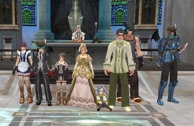 ヴィルの結婚式