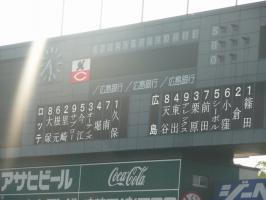 08.5.25 今日のスタメン