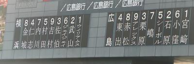 08.7.26 今日のスタメン