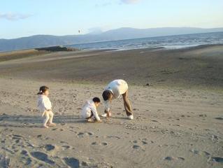 貝殻あったよ 2009.3.15
