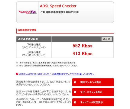 ADSL Yahoo! 画像