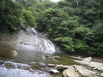 養老渓谷-滝