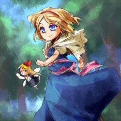 歩くアリス