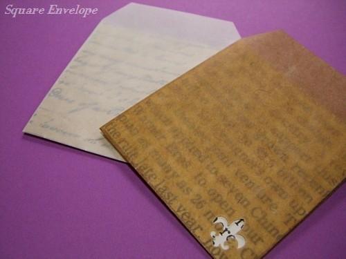 ミニスクエア封筒