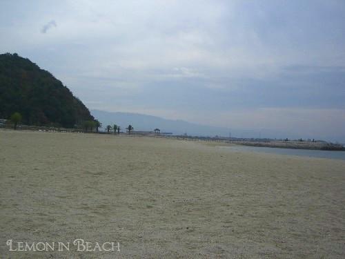 見渡す限りの砂浜