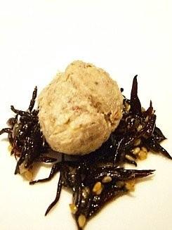 秋サバのパテとヒジキの胡麻風味サラダ