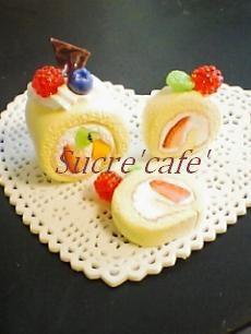 ロールケーキ③
