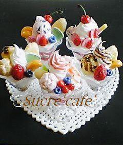 フルーツパフェ5種