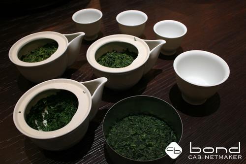 京都福寿園<p>京都福寿園本店の地下1階では数々のお茶を試飲することが出来ます</p>