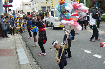 8月15日  石神ぼんでん (1)