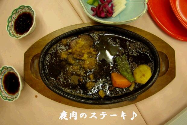 05鹿肉のステーキ