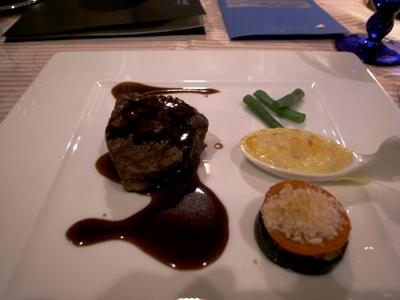 福島牛フィレ肉のグリル
