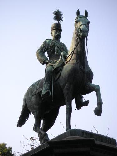 小松宮彰仁親王銅像1