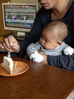 ケーキとコーたん2
