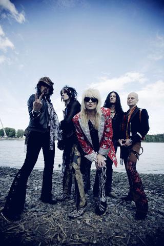 Hanoi Rocks promo Ville Akseli