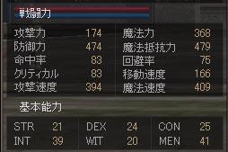 ドムステータス+WW