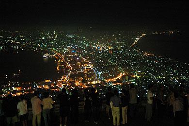 函館山から定番夜景