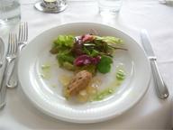 menuA 前菜サラダ