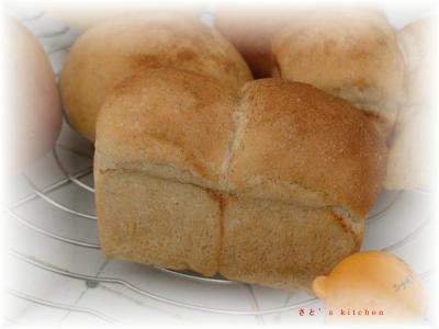 きなこミニ食パン@シナモンシュガーでおめかし