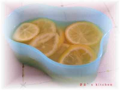 レモンの砂糖煮