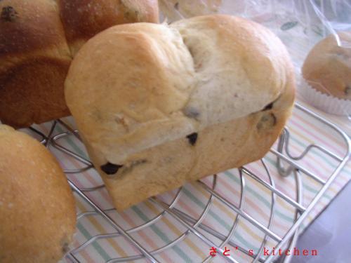 レーズンパン@ミニ食パン