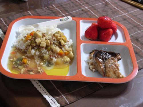 すき焼き丼ディナー@ひかるたん