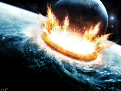 「惑星 衝突」の画像検索結果