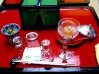 食前酒・箸附・酒肴・寄せ盛