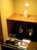 たてしな薫風 室内お茶コーナー