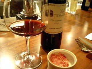 Campagnola ワインとアミューズ